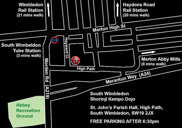 Free self defence class! At South Wimbledon Shorinji Kempo Dojo. image