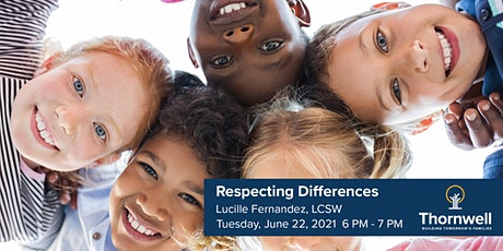 Virtual Interactive Parent/Child Workshop | Respecting Differences tickets