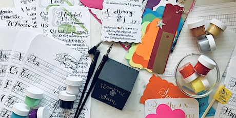 BOSTON In-person Calligraphy Classes for Beginners with Lettering By Liz tickets