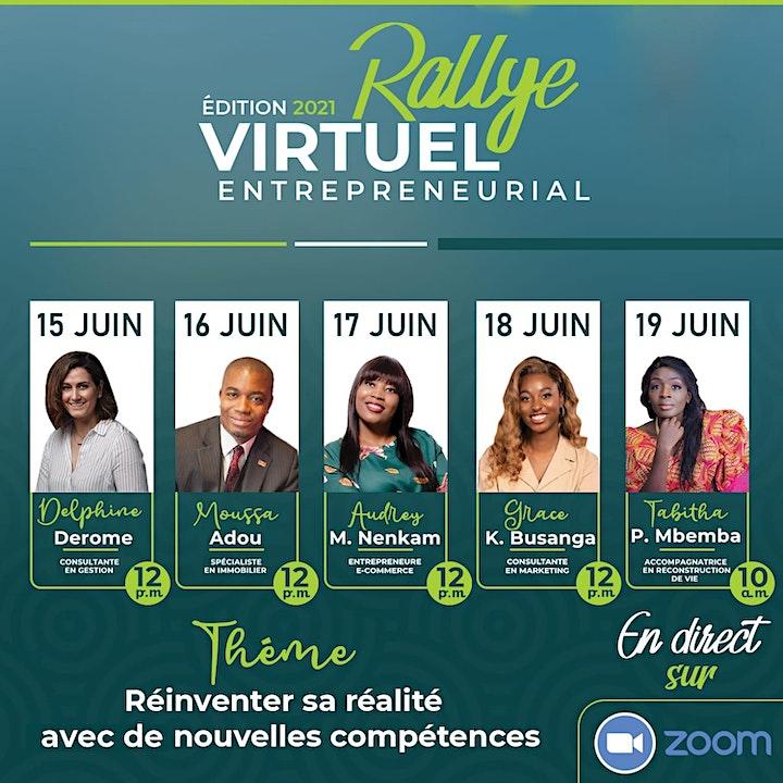 Image de Rallye Virtuel Entrepreneurial - Édition 2021