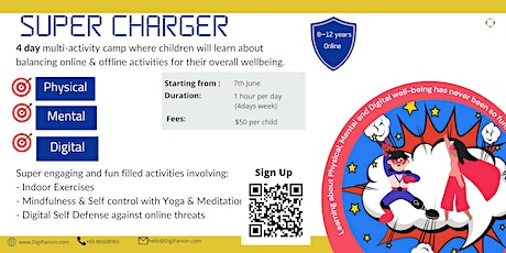 Super Charger Holiday Camp (Physical, Mental & Digital Wellbeing) tickets