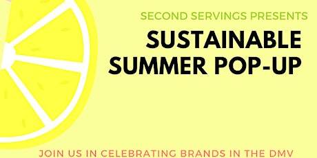 Sustainable Summer Pop Up Shop tickets
