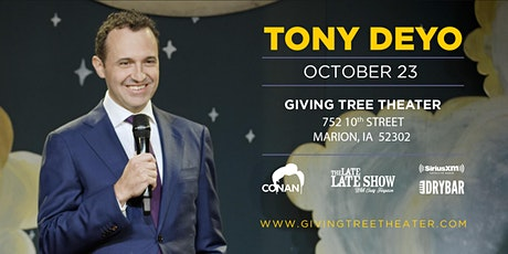 Comedian Tony Deyo at Giving Tree Theater tickets