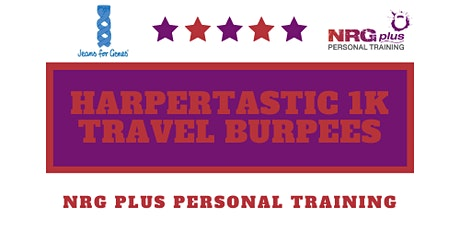 Harpertastic 1K Travelling Burpees tickets