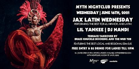 Jax Latin Ladies Night | Myth Nightclub | Wednesday 06.16.21 tickets