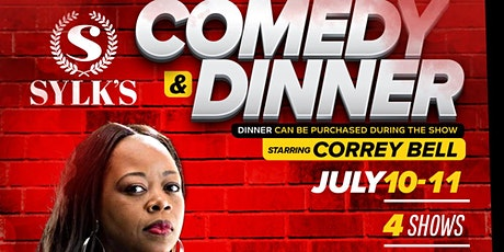 Sam Sylk presents Comedy & Dinner with Correy Bell tickets