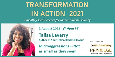 Transformation in Action featuring Talisa Lavarry tickets