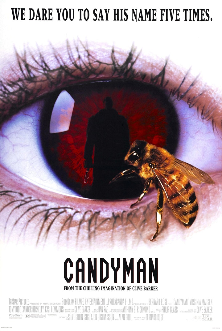 CANDYMAN - the original 1992 horror classic with an awesome Tony Todd! image
