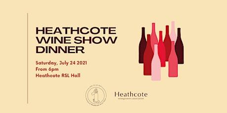 Interpack Heathcote Wine Show Dinner 2021 tickets