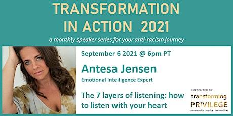 Transformation in Action featuring Antesa Jensen tickets