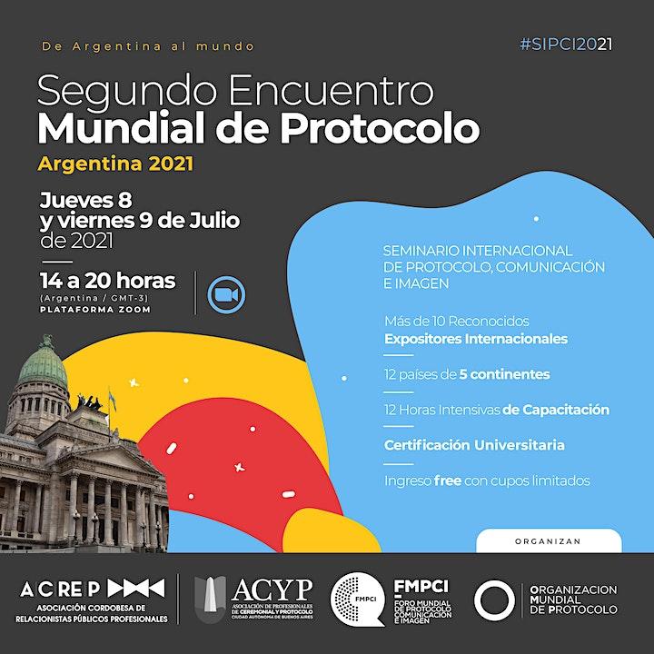 Imagen de Seminario Internacional de Protocolo, Comunicación e Imagen.