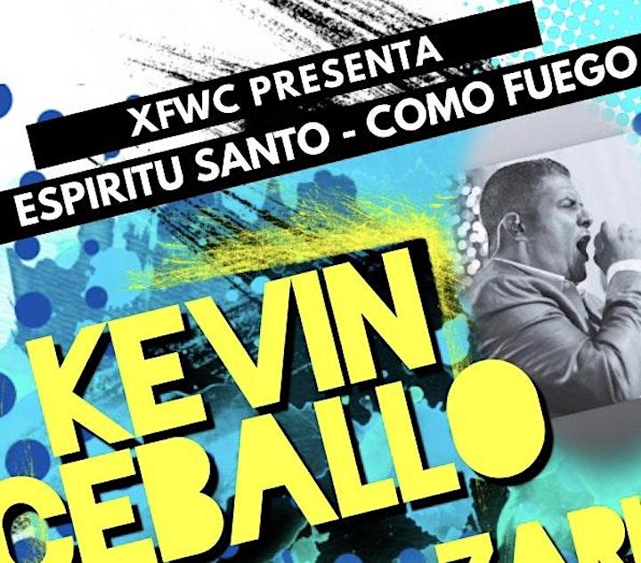 """""""Espíritu Santo - Como Fuego"""" FREE EVENT image"""