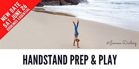Handstand Prep & Play Workshop tickets