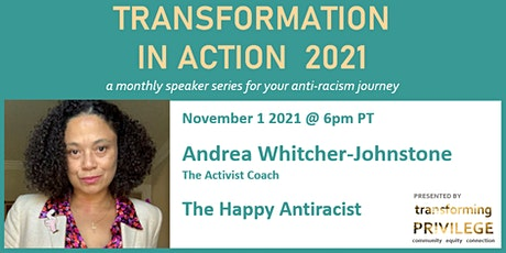 Transformation in Action featuring Andrea Whitcher-Johnstone tickets