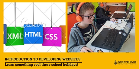 Introduction to Developing Websites: SCRATCHPAD Holiday Programme tickets