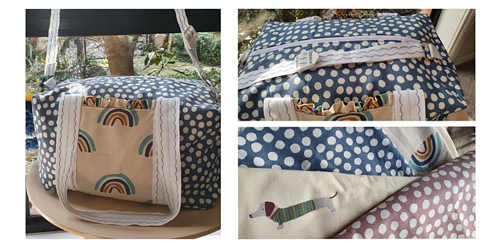 Ruffle Duffle Bag Sewing Workshop image