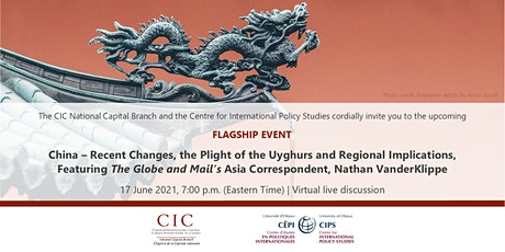 FLAGSHIP | Recent Changes in China: A Conversation with Nathan VanderKlippe tickets