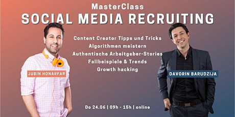 MasterClass Social Media Recruiting - Der Workshop Tickets