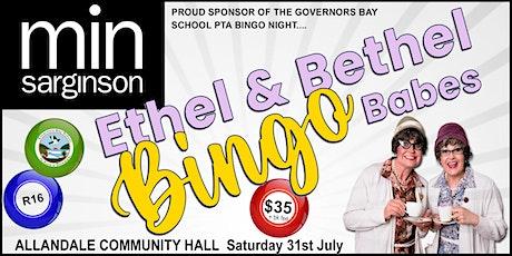 'Ethel & Bethel Bingo Babes' Fundraiser tickets
