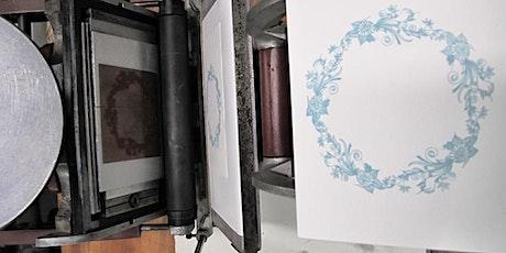 Workshop Letterpress met Polymeerplaat tickets