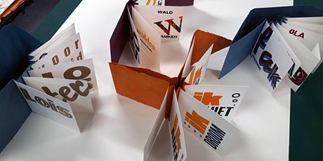 Workshop: Letters + Press + Binden = Concertina artboekje tickets