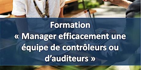 """Formation """"Manager efficacement les équipes de contrôleurs et d'auditeurs"""" billets"""
