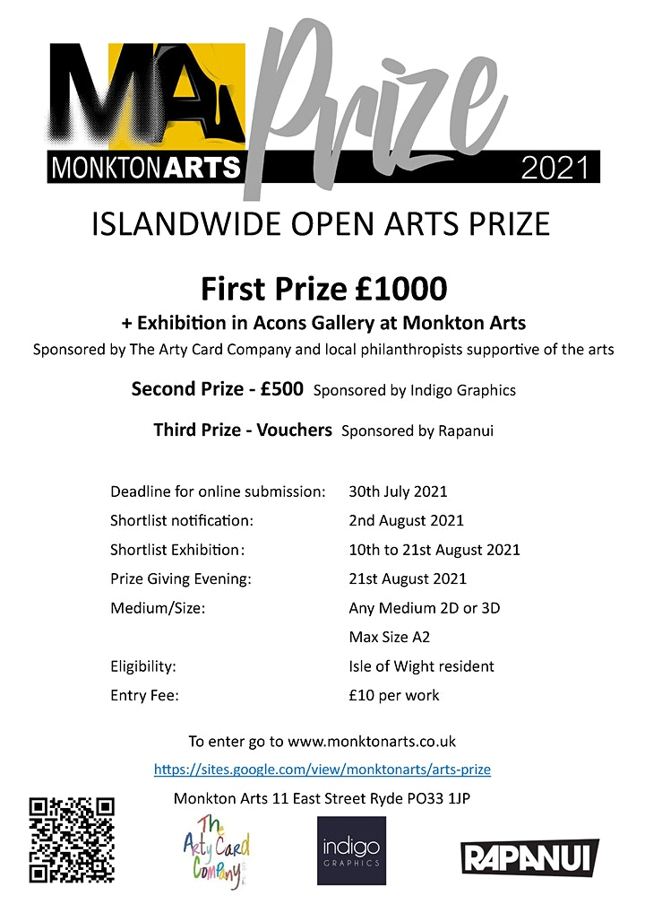 Monkton Arts Prize Entry and Award Ceremony image