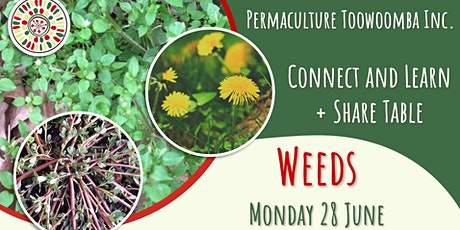 Weeds - June Connect and Learn tickets