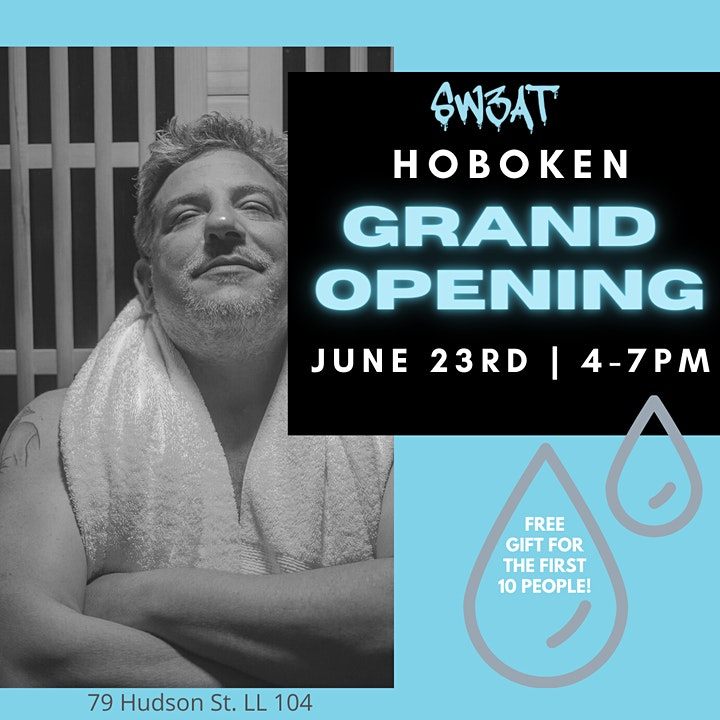 Hoboken SW3AT Sauna Grand Opening image