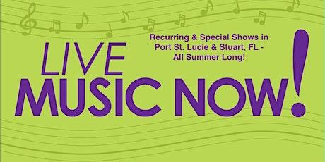 LIVE MUSIC, Small Concerts & Music Festivals, Entertainment -Treasure Coast tickets