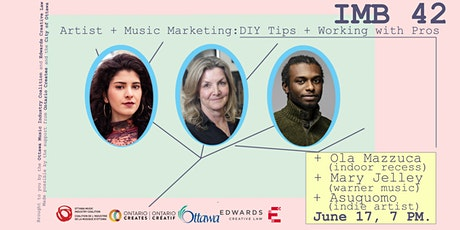 IMB 42 - Artist + Music Marketing: DIY Tips + Working with Pros tickets