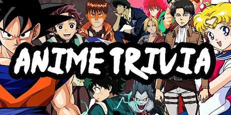 Anime Virtual Trivia w/ Triangle Game Night tickets