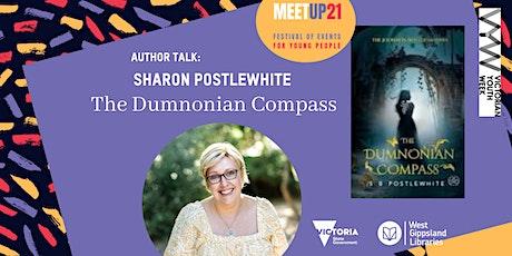 Leongatha Library - Author Talk Sharon Postlewhite & The Dumnonian Compass tickets