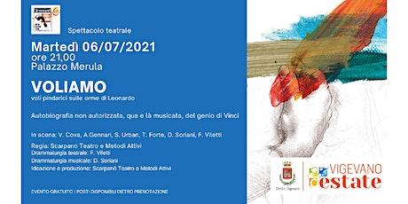 VOLIAMO, voli pindarici sulle orme di Leonardo biglietti