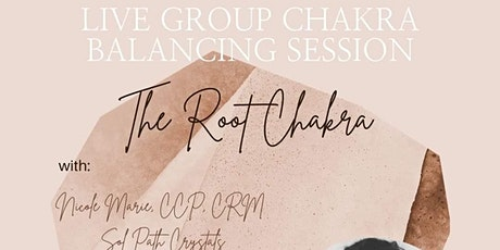 Live Group Chakra balancing session with Solpath Crystals tickets