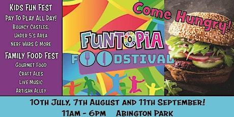 Funtopia Foodstival at Northampton tickets