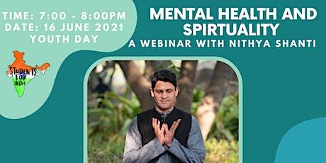 Breaking Stigmas: Mental Health and Spirituality with  Nithya Shanti tickets