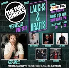Erik Power & The Fun Junkies present Laughs & Drafts tickets