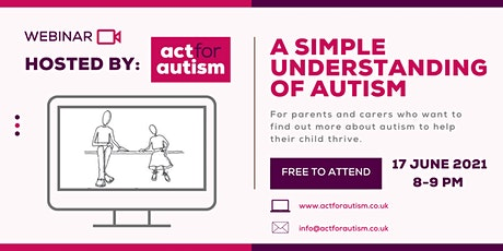 A Simple Understanding of Autism tickets
