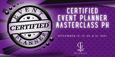 Certified Event Planner Masterclass Ph (Online Edition) tickets