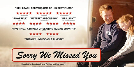 Sorry We Missed You (Online viewing) tickets