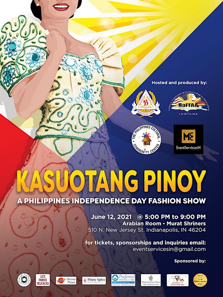 Kasuotang Pinoy - Filipino Dress Fashion Show 2021 image