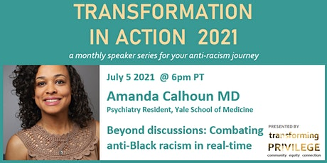 Transformation in Action featuring Amanda J. Calhoun MD tickets