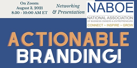 NABOE INSPIRE with Daya Naef: Actionable Steps to Branding Now! tickets