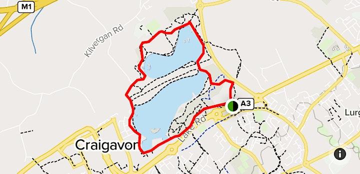KRC craigavon Lakes 10k and 5k 2021 image