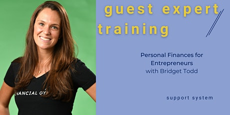 Personal Finances for Entrepreneurs with Bridget Todd tickets