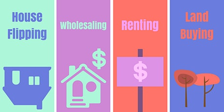 The 4 Levels of Real Estate Investing tickets