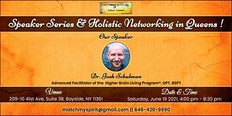 *Free* Holistic Speaker Series & Networking in Queens tickets