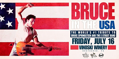 Bruce in the USA -The #1 Tribute to Bruce Springsteen and the E Street Band tickets