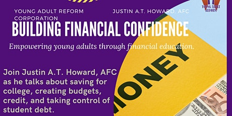 Young Adult Reform Presents: Building Financial Confidence tickets